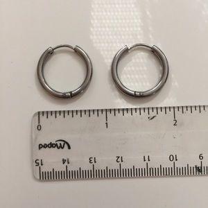 Titanium Hoop Earrings